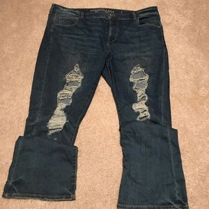 American Eagle Super Stretch Skinny Kick